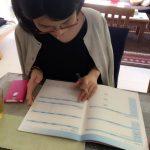 エンディングノートを書いてもらいながらカラー診断してみました。